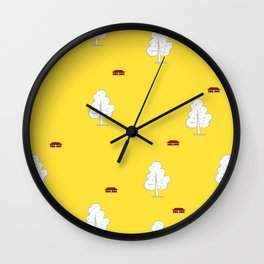 Neo textile 04 Wall Clock