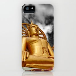 Big Buddha Thailand iPhone Case