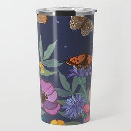 Anemones & Cornflowers Travel Mug
