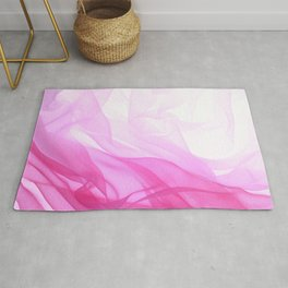 Pink Tulle Rug