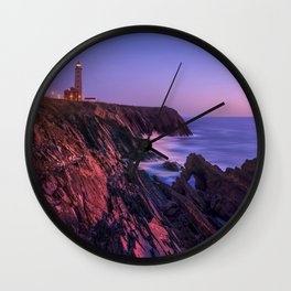 Lighthouse Bay Wall Clock