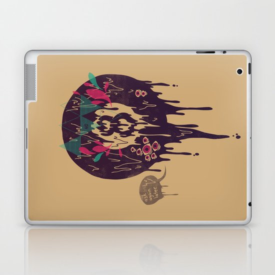 Bad Omen Laptop & iPad Skin