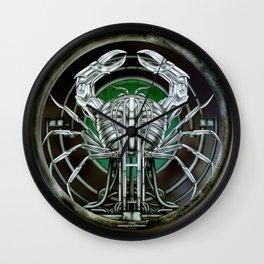 """""""Astrological Mechanism - Cancer"""" Wall Clock"""