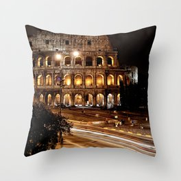 Roma, Colosseo | Rome, colosseum Throw Pillow