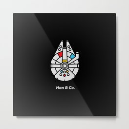 Han and Co Metal Print