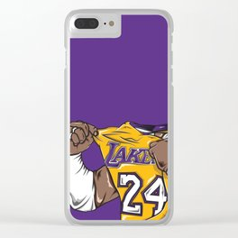 Black Mamba Clear iPhone Case
