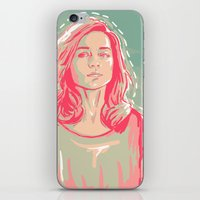 allison argent iPhone & iPod Skins featuring allison + colors by aprilsarts