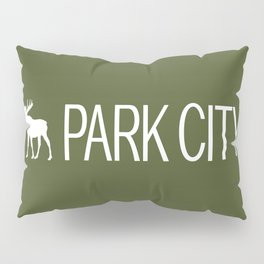 Utah: Park City Moose Pillow Sham