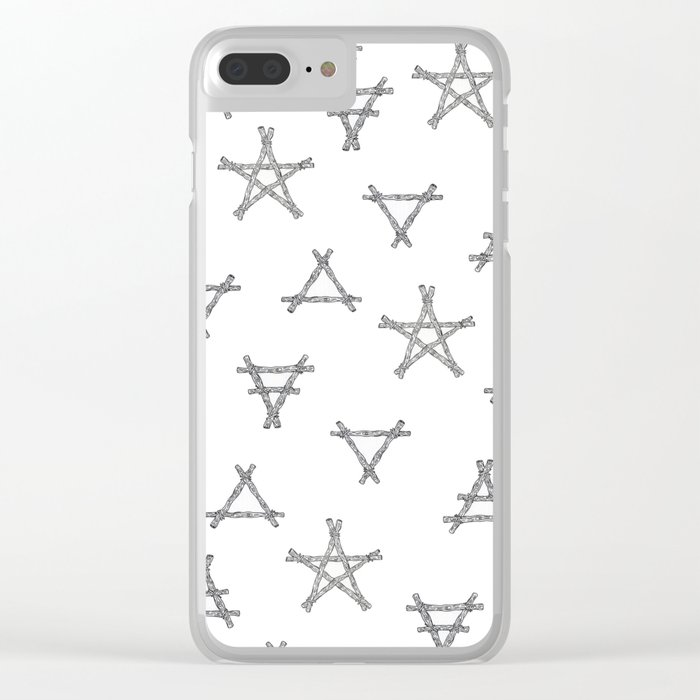 Symbols Of The Witch Clear Iphone Case By Wildernessandwonder