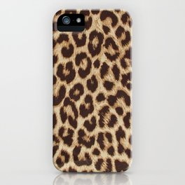 ReAL LeOparD Nude iPhone Case