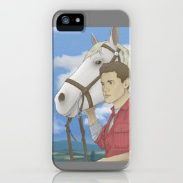 Jensen and Shadow iPhone Case