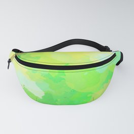 Colorful Abstract - green pattern, forest, nature Fanny Pack