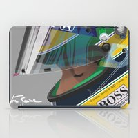 senna iPad Cases featuring Senna Meditation by Borja Sanz