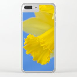 Narcissus close-up Clear iPhone Case