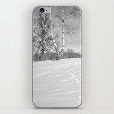 Footprints in the snow iPhone & iPod Skin