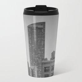 grimy nyc window... Travel Mug