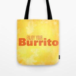 Enjoy Your Burrito Nerdist Tote Bag