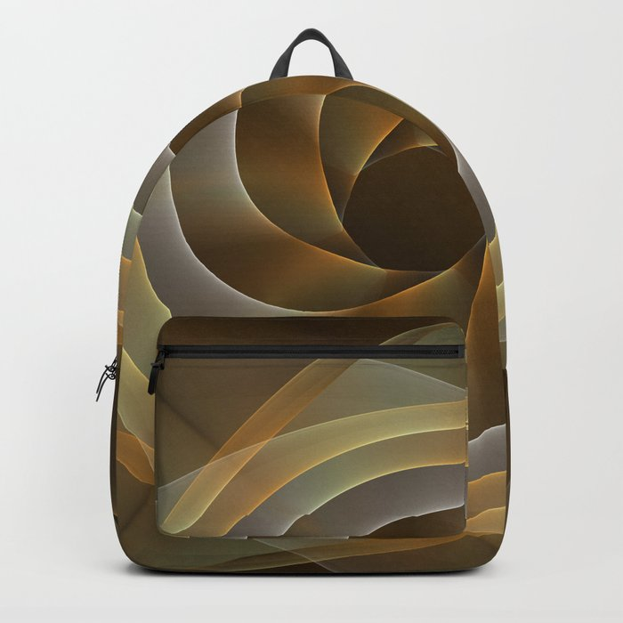 Artistic movement, fractal abstract Backpack