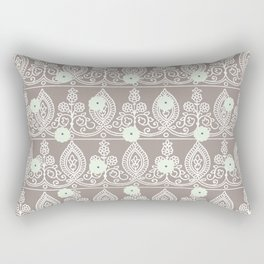 Gypsy Lace in Neutral Rectangular Pillow