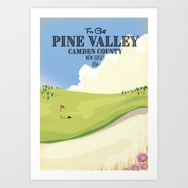Pine Valley Camden County Golf Art Print