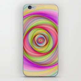 Magnetic storm iPhone Skin