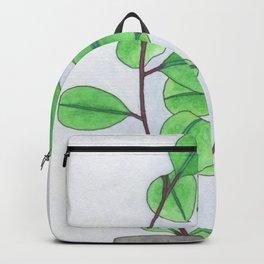 Mirrored leaves Backpack