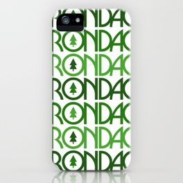 Adirondacks New York iPhone Case