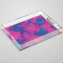Cotton Candy Acid Trip Acrylic Tray