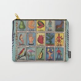 Mexican Bingo Loteria Carry-All Pouch