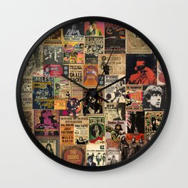 Rock n' Roll Stories revisited Wall Clock