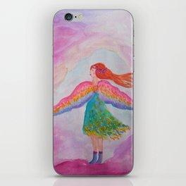 Rainbow Wings iPhone Skin