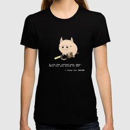 > Slay for BACON T-shirt