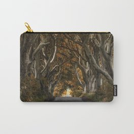 Dark Hedges alley in autumn Carry-All Pouch