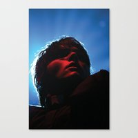 my chemical romance Canvas Prints featuring My Chemical Romance  by Christopher Chouinard
