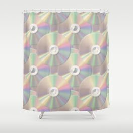 DVD Color Shower Curtain