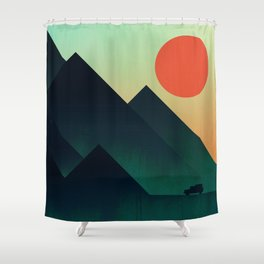 World to see Shower Curtain