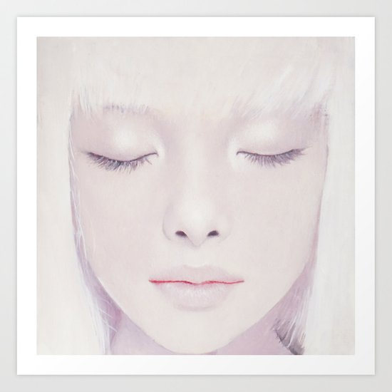 Face17 Art Print