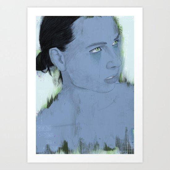 Reproach Art Print