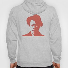 Tom Waits in Red Hoody