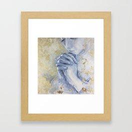 Casting Care Framed Art Print