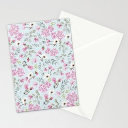 Romantic Pink patern Stationery Cards