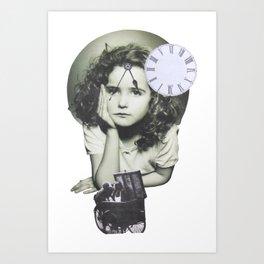 Nostalgía del futuro Art Print