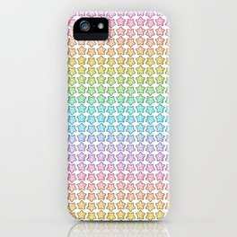 Rainbow Starfish iPhone Case