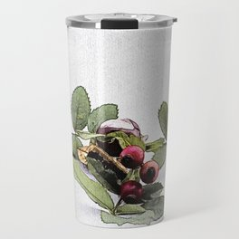 Chestnut (Castanea/ Rowan Travel Mug