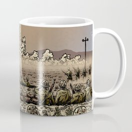 Atomic Vacation at Desert Rock Coffee Mug