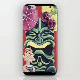 Tiki Mai Tai iPhone Skin