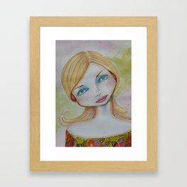 Bella SASS Girl - Candy - SASS = Strong and Super Smart Framed Art Print