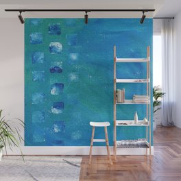Squared Up Oceans Wall Mural