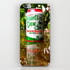Mountain Dew reflected iPhone & iPod Skin