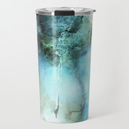 Blue abstract Travel Mug